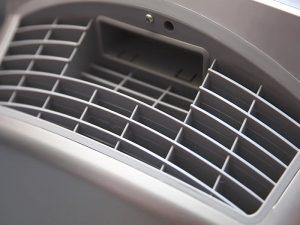 vent of an air purifier